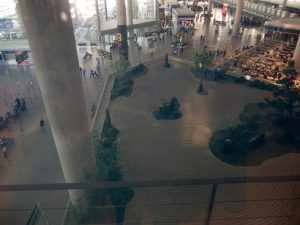 Zen Garden at Malaga Airport