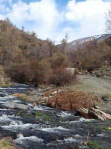 Runner-up River Trevélez in Granada