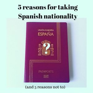 Taking Spanish nationality