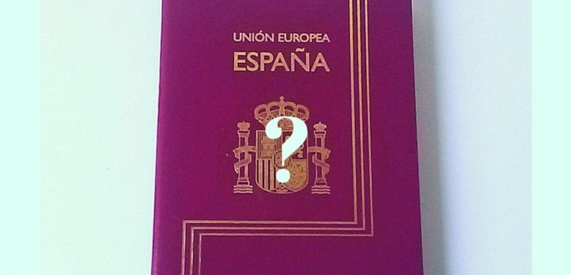 Taking Spanish nationality