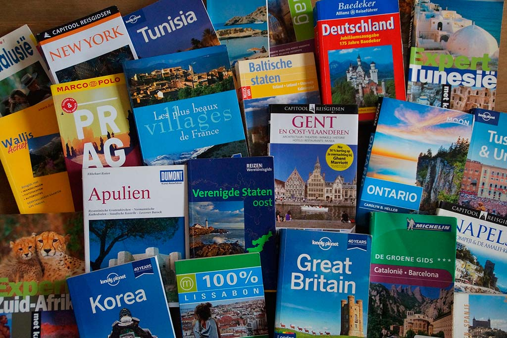 Travel guide updates