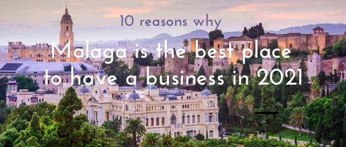 stunning view illustrating why Malaga is the best place to have a business